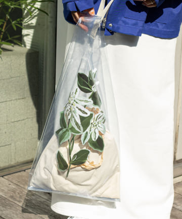 Omekashi(オメカシ) TOLIGHT florist pvc bag