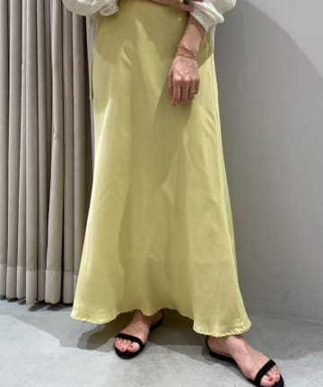 SHENERY(シーナリー) フィブリルツイルマーメイドマキシスカート