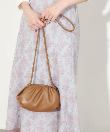 natural couture(ナチュラルクチュール) クラウドミニショルダーバッグ
