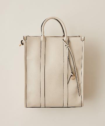 natural couture(ナチュラルクチュール) タテ型スマートトートバッグ