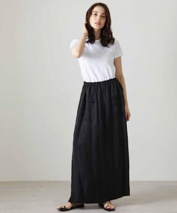 OUVRAGE CLASSE(ウヴラージュクラス) 【TICCA/ティッカ】ミリタリーカーゴスカート