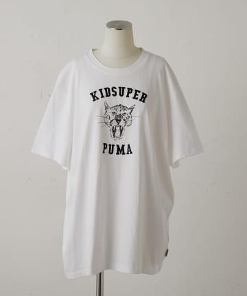 ear PAPILLONNER(イア パピヨネ) 【PUMA×KID SUPER (プーマ×キッドスーパー)】 Tシャツ