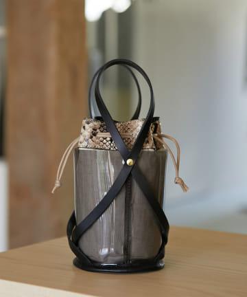 GALLARDAGALANTE(ガリャルダガランテ) PVCミニバケットバッグ