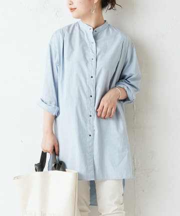 BEARDSLEY(ビアズリー) 製品染めロングシャツ