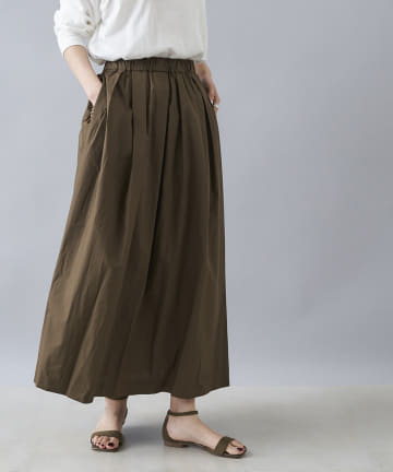 DOUDOU(ドゥドゥ) タイプライタースカート