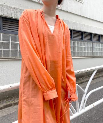 SHENERY(シーナリー) スキッパーリゾートドレス