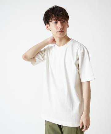 Discoat(ディスコート) 【LACOSTE】クラッシックフィットワンポイントピグメントロゴTシャツ