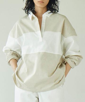 GALLARDAGALANTE(ガリャルダガランテ) ラガーシャツ