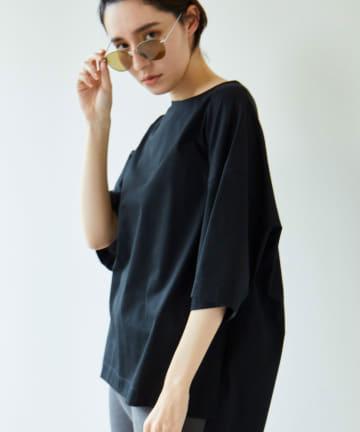 GALLARDAGALANTE(ガリャルダガランテ) クールローレルオーバーTシャツ