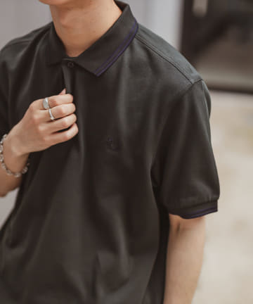 Discoat(ディスコート) 【FRED PERRY】TWIN TIPPED FRED PERRY SHIRT