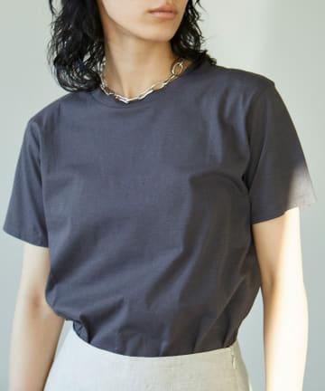 GALLARDAGALANTE(ガリャルダガランテ) リネンコンパクトTシャツ