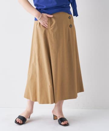 BONbazaar(ボンバザール) ツインパワーリネンスカート