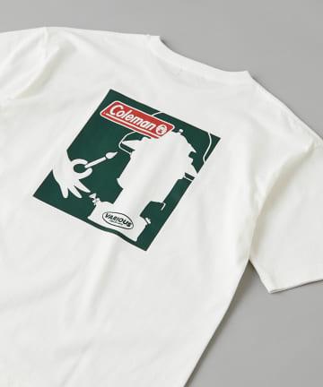 CIAOPANIC(チャオパニック) 【Coleman×CIAOPANIC】LANTERN バックプリントロゴTシャツ