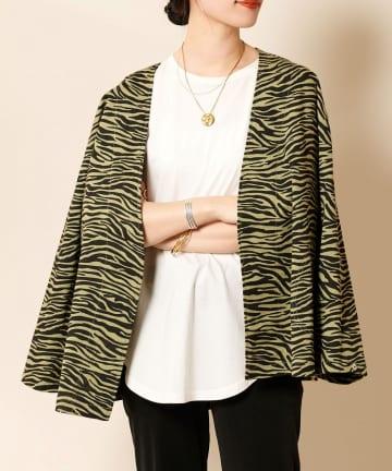 SHENERY(シーナリー) ゼブラプリントジャケット