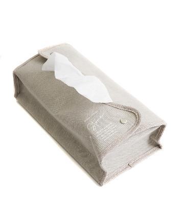 3COINS(スリーコインズ) 【WEB/大型店舗限定】コットンティッシュケース厚型用