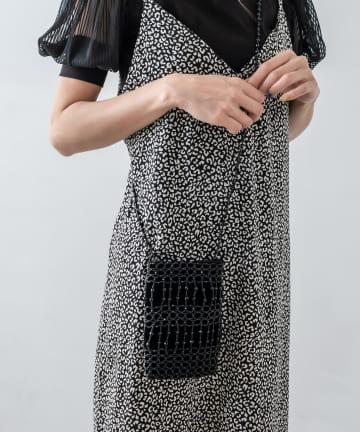 RASVOA(ラスボア) 鍵編みビーズショルダー