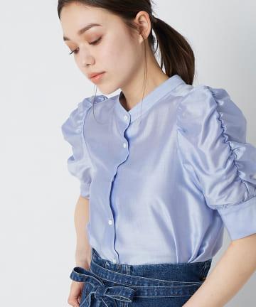 La boutique BonBon(ラブティックボンボン) 【洗える】カールマイヤーパワショルシャツ