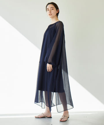 GALLARDAGALANTE(ガリャルダガランテ) シアーギャザードレス