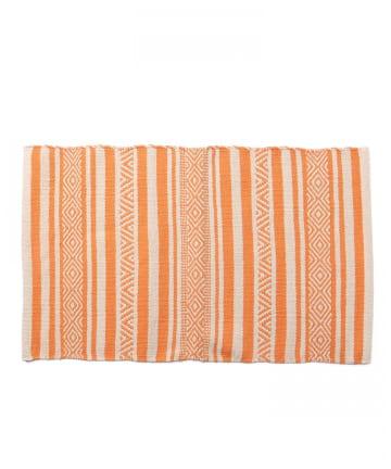 CIAOPANIC TYPY(チャオパニックティピー) 【india】Cotton Handloom Mat 80×50