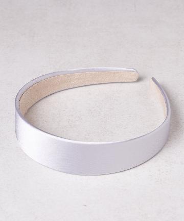 NICE CLAUP OUTLET(ナイスクラップ アウトレット) 3cmサテンカチューシャ