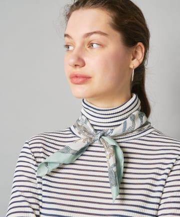CIAOPANIC(チャオパニック) イタリアタッセル柄スカーフ