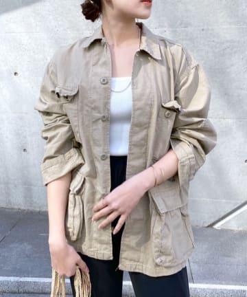 SHENERY(シーナリー) (ROTHCO/ロスコ) ベルテッドBDシャツジャケット