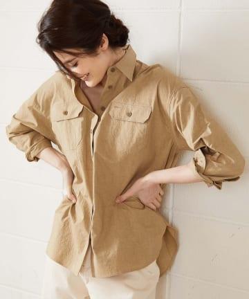 OUVRAGE CLASSE(ウヴラージュクラス) ワークポケットシャツ