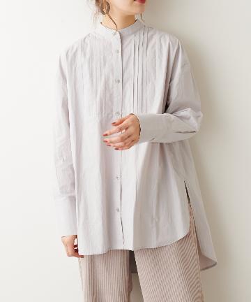 NICE CLAUP OUTLET(ナイスクラップ アウトレット) タイプライターロングシャツ