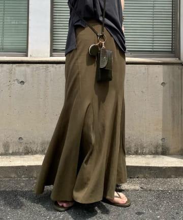 DOUDOU(ドゥドゥ) 【WEB限定】マチ付マーメイドスカート