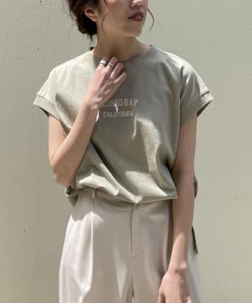 CAPRICIEUX LE'MAGE(カプリシュレマージュ) USコットンMORROBAY Tシャツ