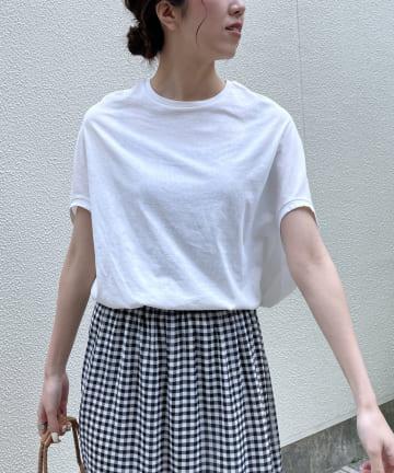 CAPRICIEUX LE'MAGE(カプリシュレマージュ) 変形ゆるTシャツ
