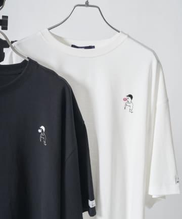 CPCM(シーピーシーエム) 【WEB限定】SEIJI MATSUMOTO×CPCM ワンポイント刺繍BIGT