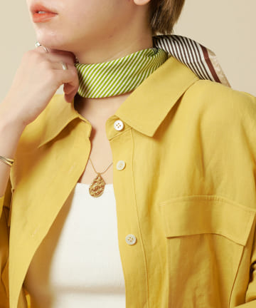 SHENERY(シーナリー) 配色ストライプスカーフ
