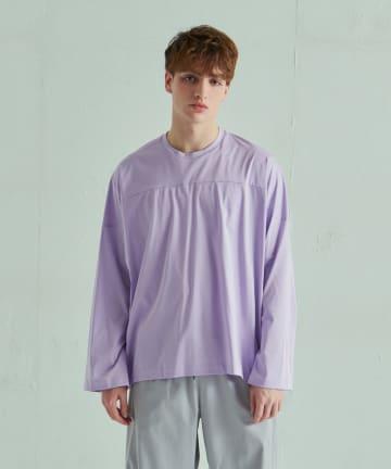Lui's(ルイス) フレアスリーブベースボールロングTシャツ