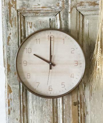 salut!(サリュ) ナチュラル壁掛け時計