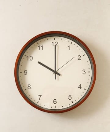 salut!(サリュ) ウッド壁掛け時計