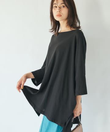 La boutique BonBon(ラブティックボンボン) ボックスオーバーTシャツ