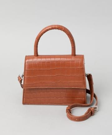 CIAOPANIC(チャオパニック) クロコミニハンドバッグ