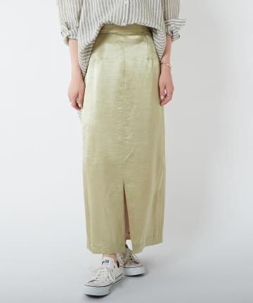 COLLAGE GALLARDAGALANTE(コラージュ ガリャルダガランテ) 【優しく艶やかに】ヴィンテージフロントスリットスカート