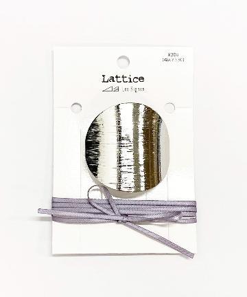 Lattice(ラティス) ラウンドヘアカフス+マルチリボンセット