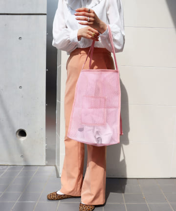 ASOKO(アソコ) 【WEB限定色】メッシュトートバッグ