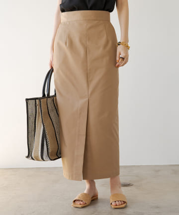 Loungedress(ラウンジドレス) チノマキシスカート