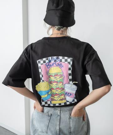 RASVOA(ラスボア) Tower Burger Tシャツ