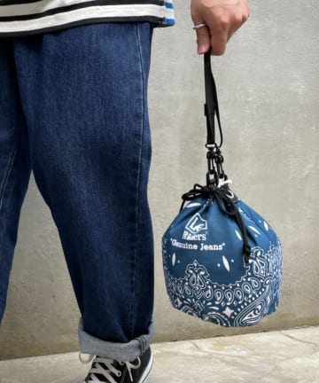 CIAOPANIC TYPY(チャオパニックティピー) 【Lee/リー】BANDANA DRAWSTRING BAG