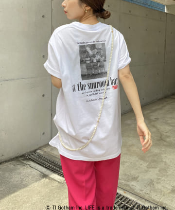 CAPRICIEUX LE'MAGE(カプリシュレマージュ) 【GOOD ROCK SPEED】LIFE フォトTシャツ