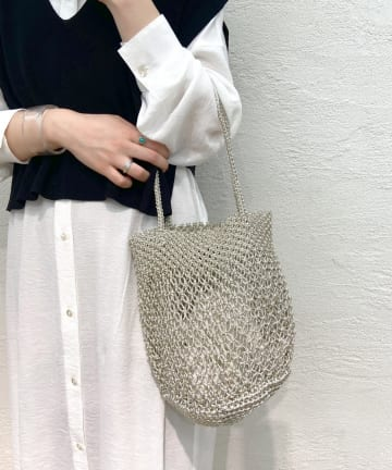 SHENERY(シーナリー) 【WEB限定】(BAGMATI/バグマティ) メッシュバッグ