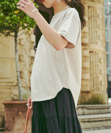 Chez toi(シェトワ) 【WEB限定】リラックスTシャツ