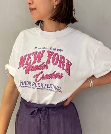 SHENERY(シーナリー) NewYork Rockfestival TEE