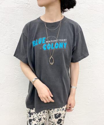 SHENERY(シーナリー) BLUE COLONY TEE