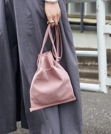 CIAOPANIC TYPY(チャオパニックティピー) フェイクスエード変形ミニ巾着BAG